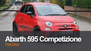 Abarth 595 Competizione First Drive VLOG at SMMT, North