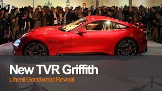 TVR Unveil All New Griffith At Goodwood Revival
