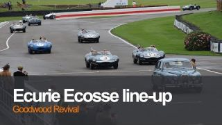 Ecurie Ecosse line-up at Goodwood Revival