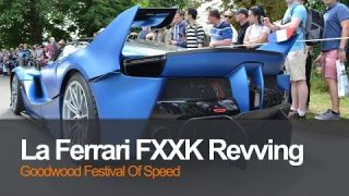FXXK Ferrari Revving and accelerating Goodwood Festival of Speed 2017 Instagram live broadcast