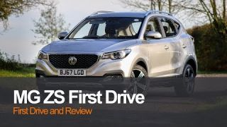 MG ZS Review (Concise) and First Drive - Formerly MG XS | MG Launch UK 2017