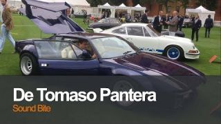 De Tomaso Pantera Revving | The City Concours 2017 London