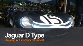 Jaguar D Type Goodwood Revival 2017