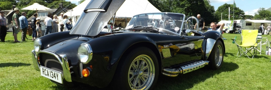 A day at the Grasmere classic car show