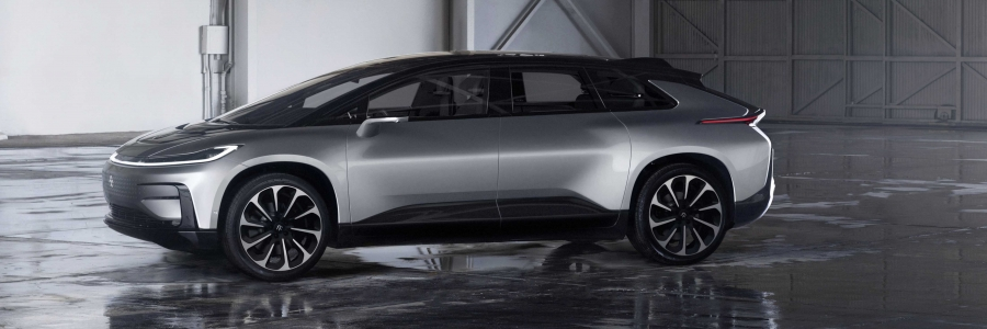 The 2018 Faraday Future FF91