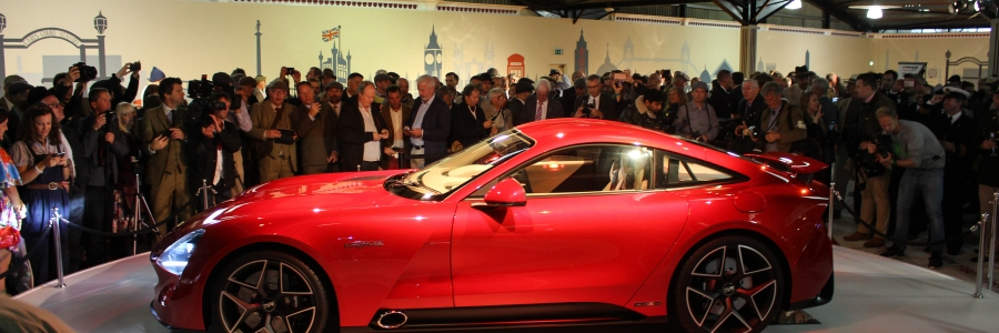 TVR Unveil All New Griffith