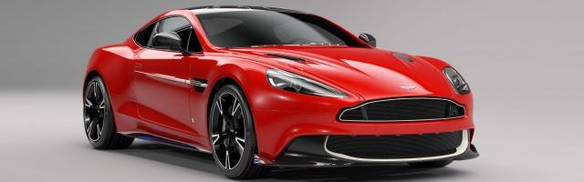 Aston Martin Vanquish S: Red Arrows Edition